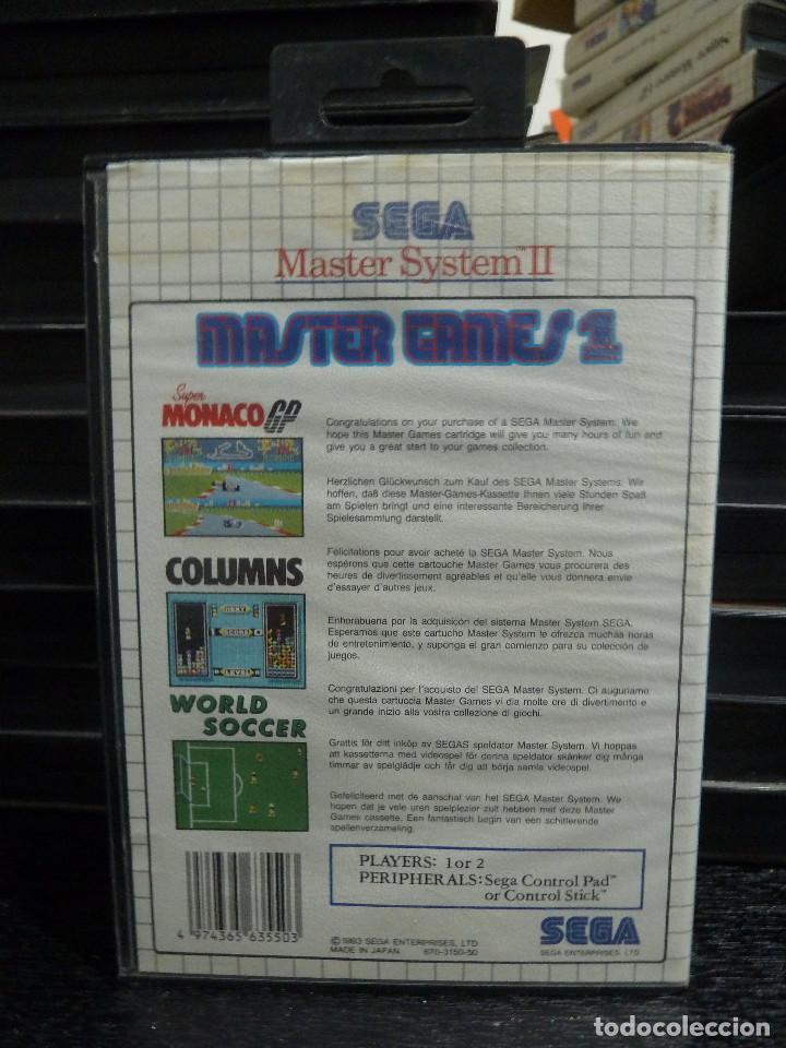 Videojuegos y Consolas: MASTER SYSTEM MASTER GAMES 1 - Foto 2 - 244948140