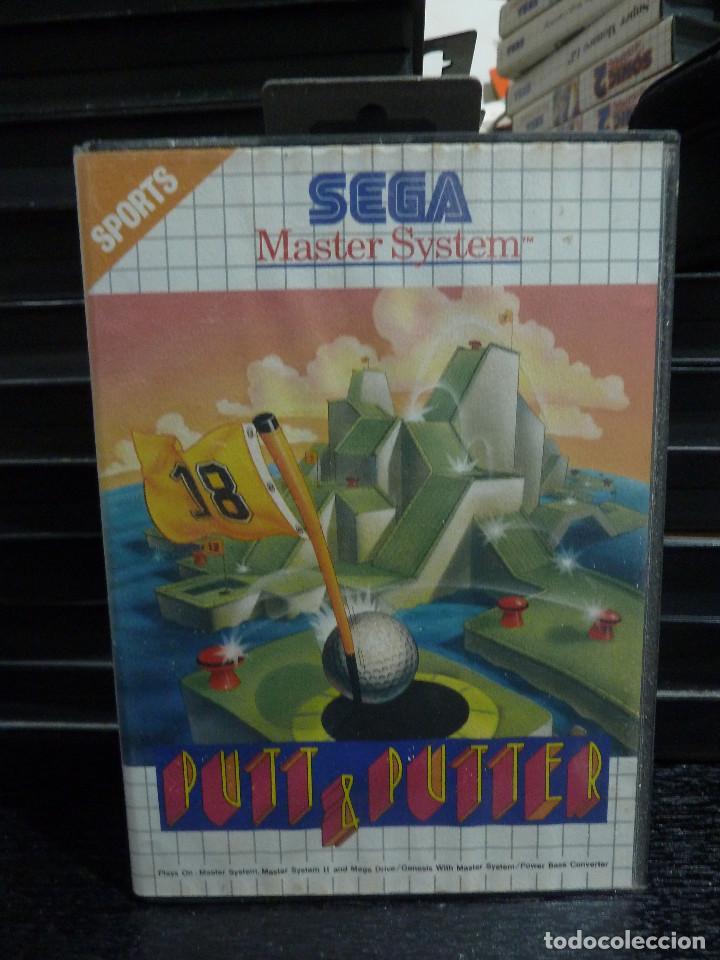 JUEGO DE MASTER SYSTEM PUTT & PUTTER (Juguetes - Videojuegos y Consolas - Sega - Master System)