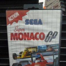Videojuegos y Consolas: JUEGO DE MASTER SYSTEM SUPER MONACO GP. Lote 244948695