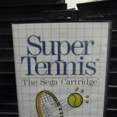 Videojuegos y Consolas: JUEGO DE MASTER SYSTEM SUPER TENNIS. Lote 244948955