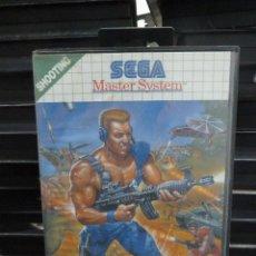 Videojuegos y Consolas: JUEGO DE MASTER SYSTEM MERCS. Lote 244949095