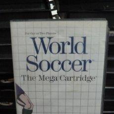 Videojuegos y Consolas: JUEGO DE MASTER SYSTEM WORLD SOCCER. Lote 244949870
