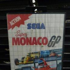 Videojuegos y Consolas: JUEGO DE MASTER SYSTEM SUPER MONACO GP. Lote 244949955