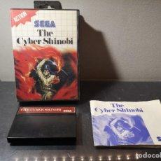 Videojuegos y Consolas: JUEGO THE CYBER SHINOBI SEGA MASTER SYSTEM. Lote 245097850