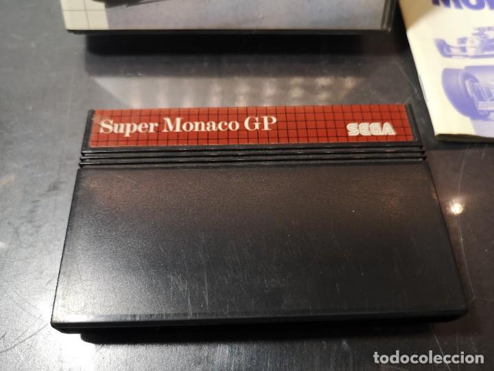 Videojuegos y Consolas: juego sega súper Monaco gp sega master system - Foto 3 - 245097995