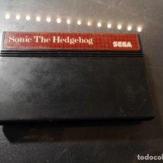 Videojuegos y Consolas: SOLO JUEGO SONIC THE HEDGEHOG SEGA MASTER SYSTEM. Lote 245099780