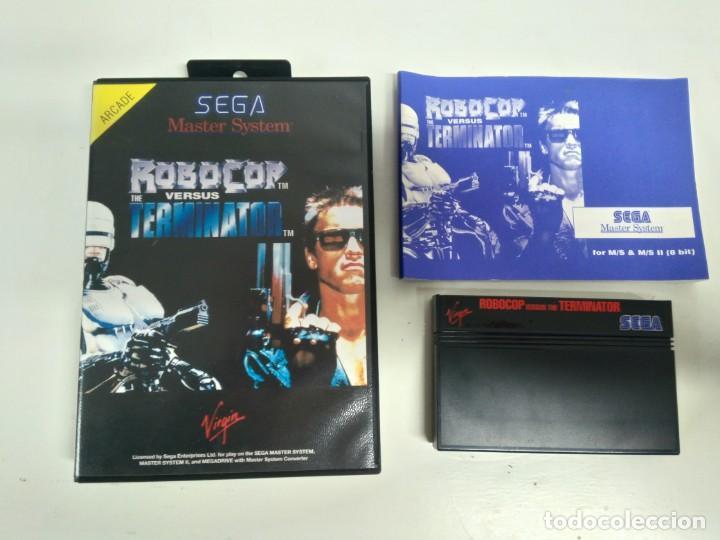 ROBOCOP VERSUS THE TERMINATOR PARA SEGA MASTER SYSTEM ENTRE Y MIRE MIS OTROS JUEGOS! (Juguetes - Videojuegos y Consolas - Sega - Master System)