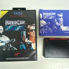 Videojuegos y Consolas: ROBOCOP VERSUS THE TERMINATOR PARA SEGA MASTER SYSTEM ENTRE Y MIRE MIS OTROS JUEGOS!. Lote 245285950