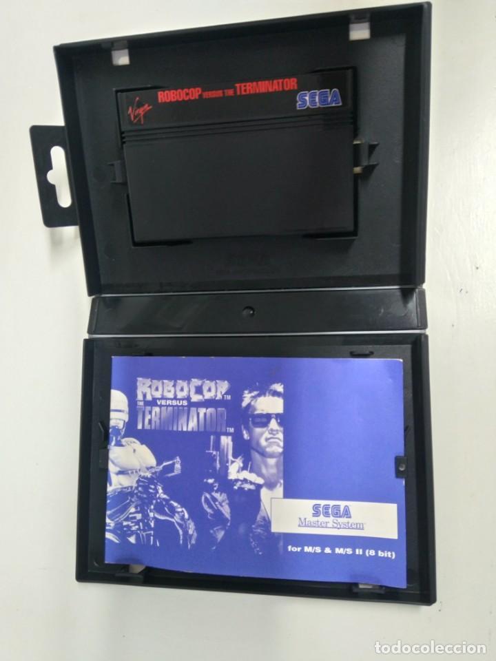 Videojuegos y Consolas: ROBOCOP VERSUS THE TERMINATOR PARA SEGA MASTER SYSTEM ENTRE Y MIRE MIS OTROS JUEGOS! - Foto 3 - 245285950