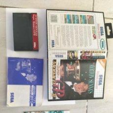 Videojuegos y Consolas: AYRTON SENNA'S SUPER MONACO G.P. 2 II SEGA MASTER SYSTEM COMPLETO PAL-EUROPA. Lote 245641600
