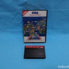 Videojuegos y Consolas: JUEGO SEGA MASTER SYSTEM - RAIBOW ISLANDS - STORY OF THE BUBBLE BOBBLE 2. Lote 245909100