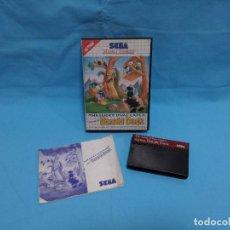 Videojuegos y Consolas: JUEGO SEGA MASTER SYSTEM - THE LUCKY DIME CAPER DONALD DUCK. Lote 245909770