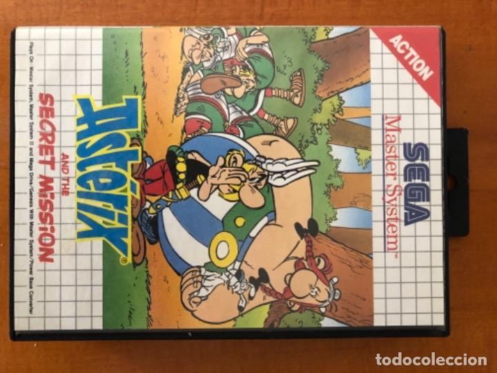 JUEGO MASTER SYSTEM 2 ASTÉRIX AND THE SECRET MISIÓN (Juguetes - Videojuegos y Consolas - Sega - Master System)