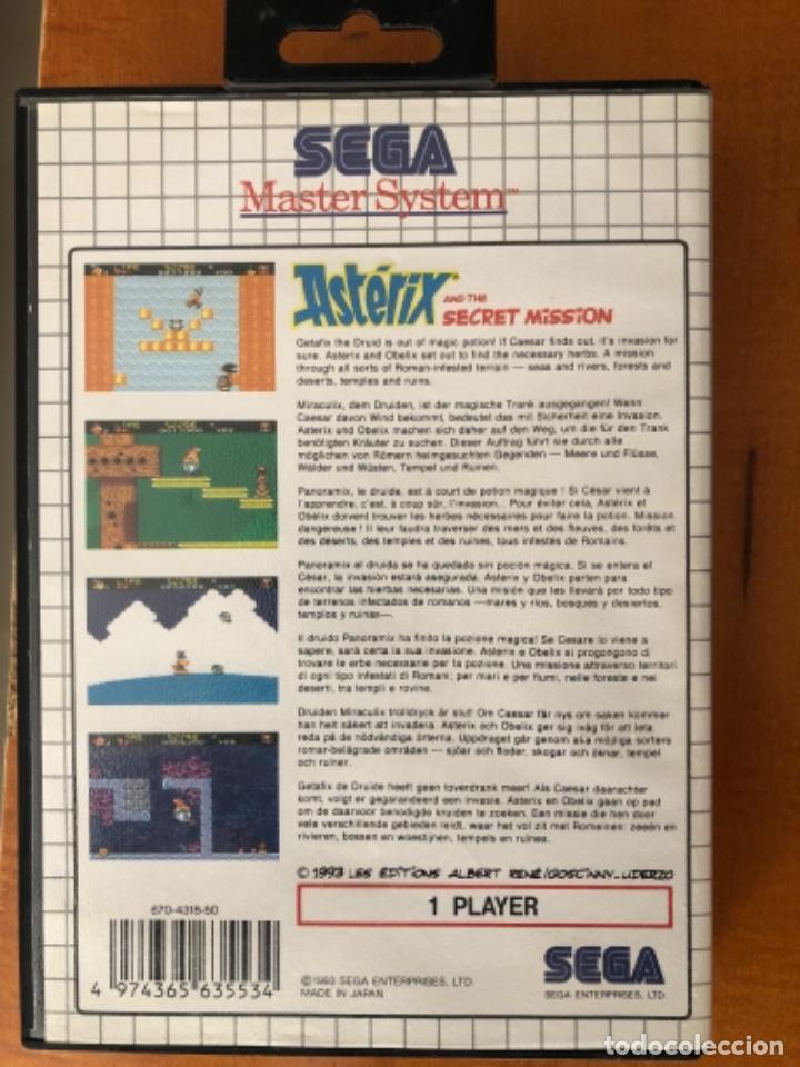 Videojuegos y Consolas: Juego Master System 2 Astérix and The Secret misión - Foto 3 - 249294890