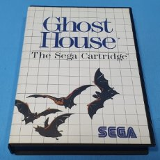 Videojuegos y Consolas: GHOST HOUSE - THE SEGA CARTRIDGE - SEGA. Lote 251795380