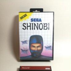Jeux Vidéo et Consoles: JUEGO SEGA - SHINOBI - MASTER SYSTEM I Y II. Lote 251842475