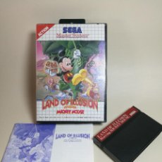 Jeux Vidéo et Consoles: JUEGO SEGA - LAND OF ILLUSION STARRING MICKEY MOUSE- MASTER SYSTEM I Y II. Lote 251891835
