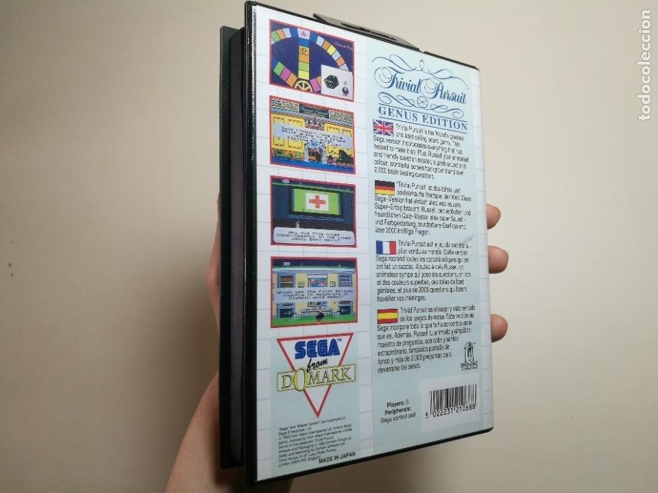 Videojuegos y Consolas: Juego SEGA -Trivial Pursuit Genus Edition- Master System I y II - Foto 2 - 251892965