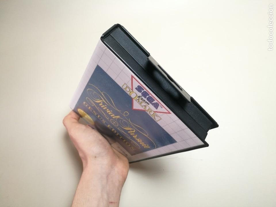 Videojuegos y Consolas: Juego SEGA -Trivial Pursuit Genus Edition- Master System I y II - Foto 4 - 251892965