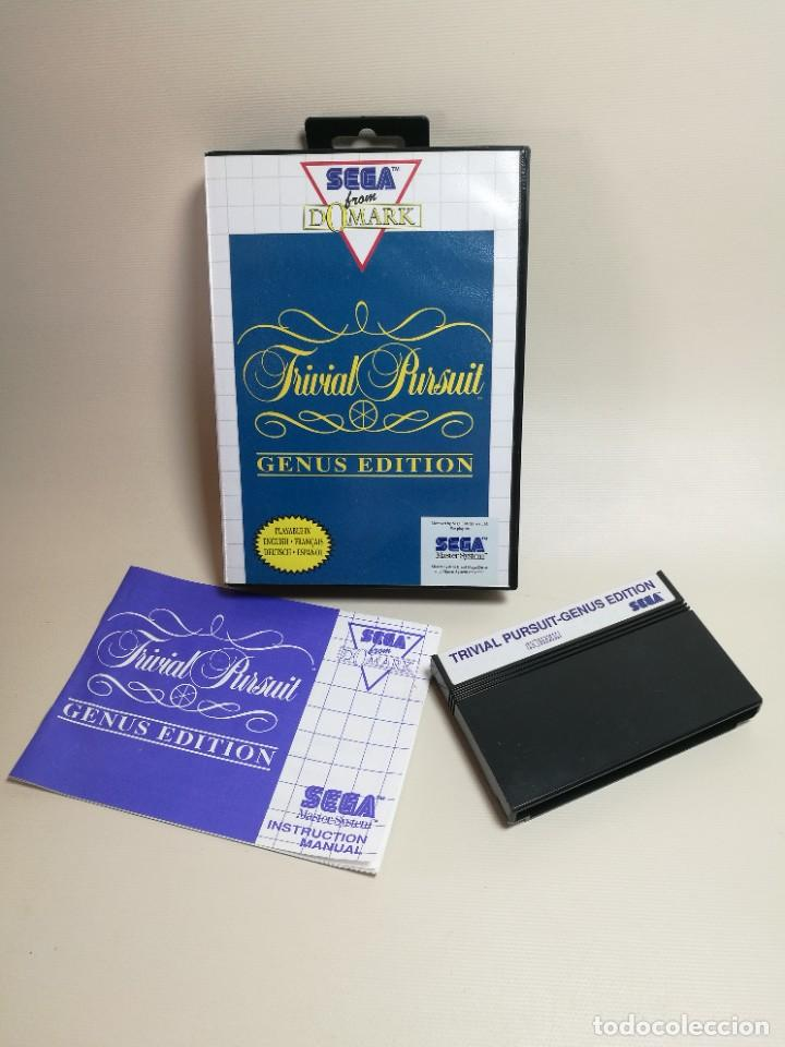 Videojuegos y Consolas: Juego SEGA -Trivial Pursuit Genus Edition- Master System I y II - Foto 7 - 251892965