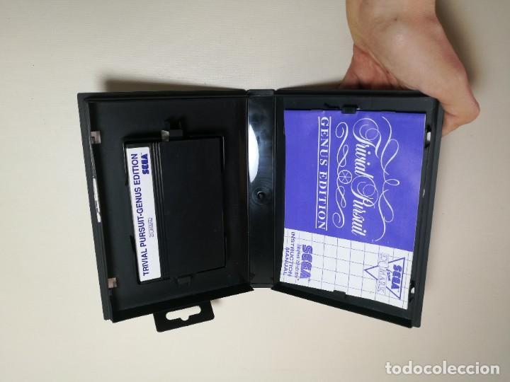 Videojuegos y Consolas: Juego SEGA -Trivial Pursuit Genus Edition- Master System I y II - Foto 13 - 251892965