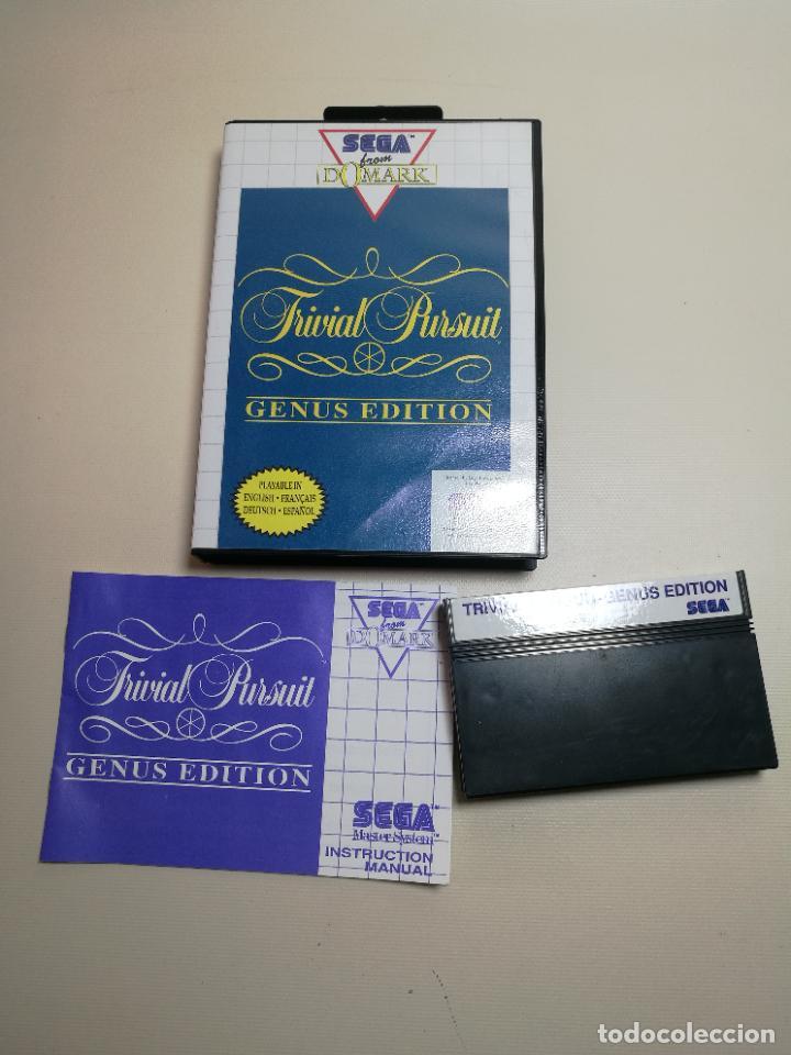 JUEGO SEGA -TRIVIAL PURSUIT GENUS EDITION- MASTER SYSTEM I Y II (Juguetes - Videojuegos y Consolas - Sega - Master System)