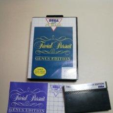 Videojuegos y Consolas: JUEGO SEGA -TRIVIAL PURSUIT GENUS EDITION- MASTER SYSTEM I Y II. Lote 251892965