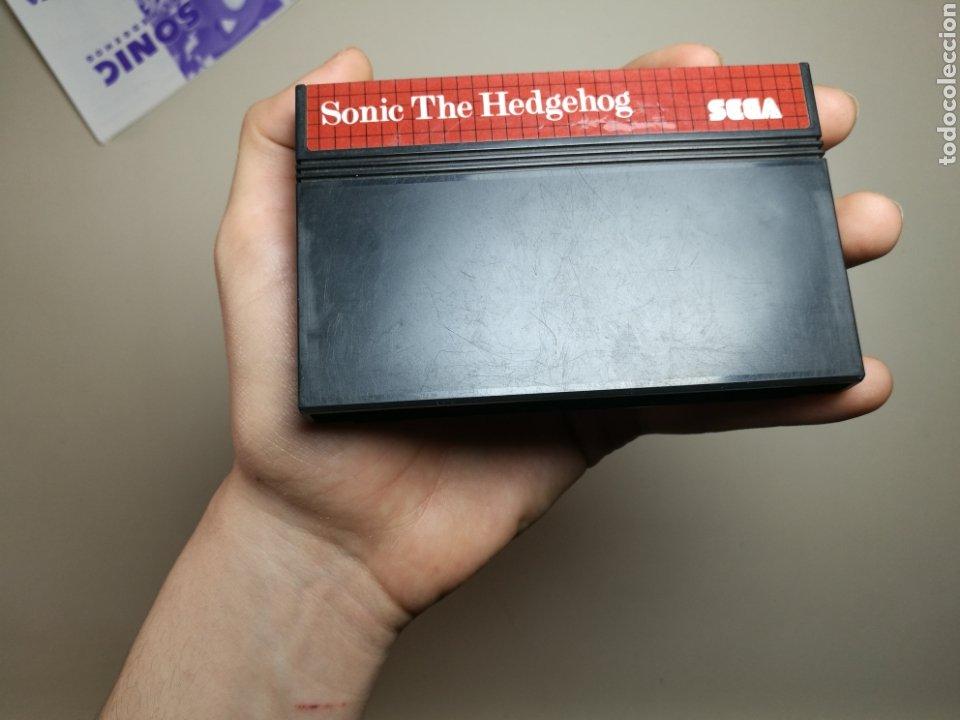 Videojuegos y Consolas: Juego SEGA - Sonic the hedgehog - Master System I y II - Sin caja - Foto 3 - 251893815