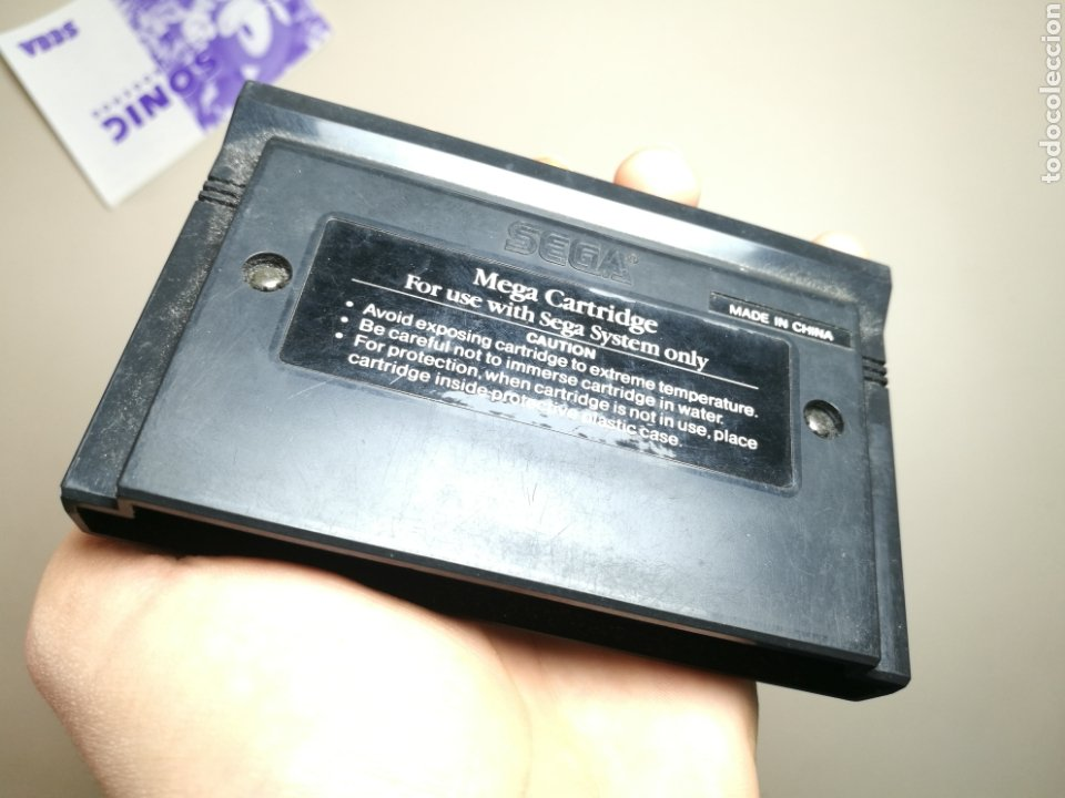 Videojuegos y Consolas: Juego SEGA - Sonic the hedgehog - Master System I y II - Sin caja - Foto 5 - 251893815