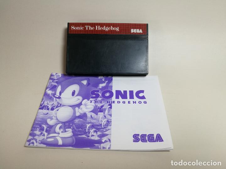 JUEGO SEGA - SONIC THE HEDGEHOG - MASTER SYSTEM I Y II - SIN CAJA (Juguetes - Videojuegos y Consolas - Sega - Master System)