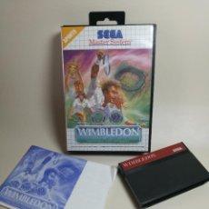Jeux Vidéo et Consoles: JUEGO SEGA - WIMBLEDON - MASTER SYSTEM I Y II. Lote 251989960