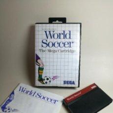 Videojuegos y Consolas: JUEGO SEGA - WORLD SOCCER - MASTER SYSTEM I Y II. Lote 251990315