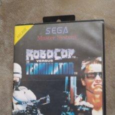 Videojuegos y Consolas: SEGA MÁSTER SISTEMA ROBOCOP. Lote 254941135