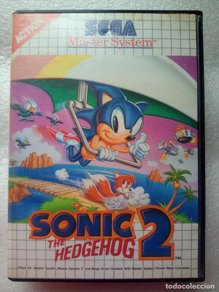 "SEGA MASTER SYSTEM ""SONIC THE HEDGEHOG 2"" (Juguetes - Videojuegos y Consolas - Sega - Master System)"