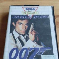 Videojuegos y Consolas: JUEGO DE CONSOLA SEGA MASTER SYSTEM , JAMES BOND 007 THE DUEL CON CAJA MANUAL Y POSTER. Lote 257720680