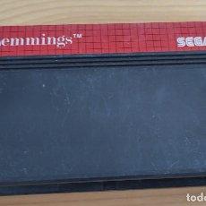 Videojuegos y Consolas: JUEGO DE CONSOLA SEGA MASTER SYSTEM , LEMMINS , SOLO CARTUCHO. Lote 257722350