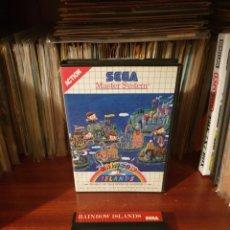 Jeux Vidéo et Consoles: RAINBOW ISLANDS / MASTER SYSTEM. Lote 258515290