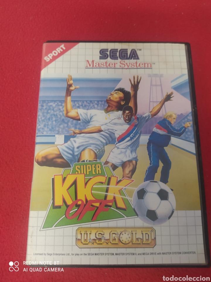 SÚPER KICK OFF (Juguetes - Videojuegos y Consolas - Sega - Master System)