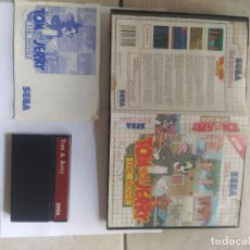 Videojuegos y Consolas: TOM Y JERRY THE MOVIE SEGA MASTER SYSTEM COMPLETO PAL-EUROPA. Lote 260391355