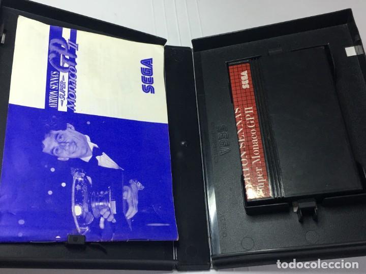 Videojuegos y Consolas: JUEGO MASTER SYSTEM SUPER MONACO GP II AYRTON SENNAS - Foto 2 - 260750385