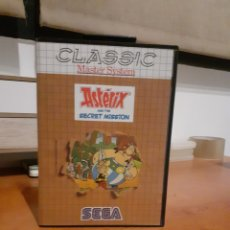 "Videojuegos y Consolas: CLASSIC- ASTERIX AND THE SECRET MISSION ""MASTER SYSTEM "". Lote 260757985"