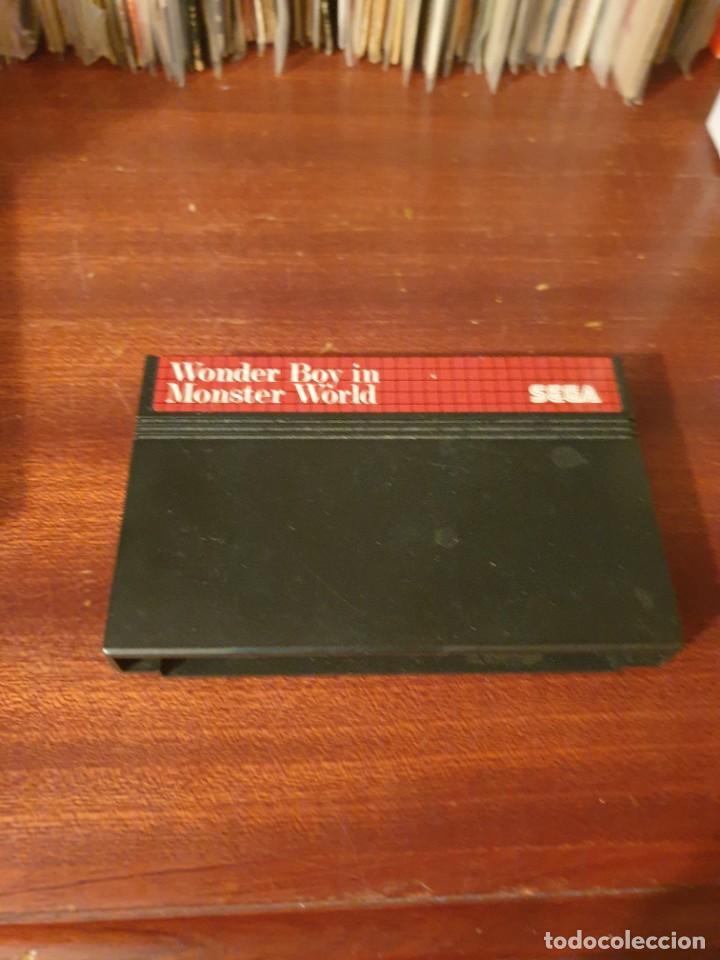 WONDER BOY IN MONSTER WORLD / MASTER SYSTEM (Juguetes - Videojuegos y Consolas - Sega - Master System)