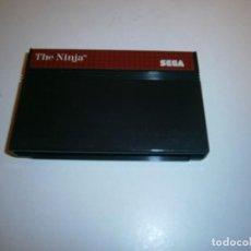 Videojuegos y Consolas: THE NINJA SEGA MASTER SYSTEM PAL ESPAÑA SOLO CARTUCHO. Lote 262320610