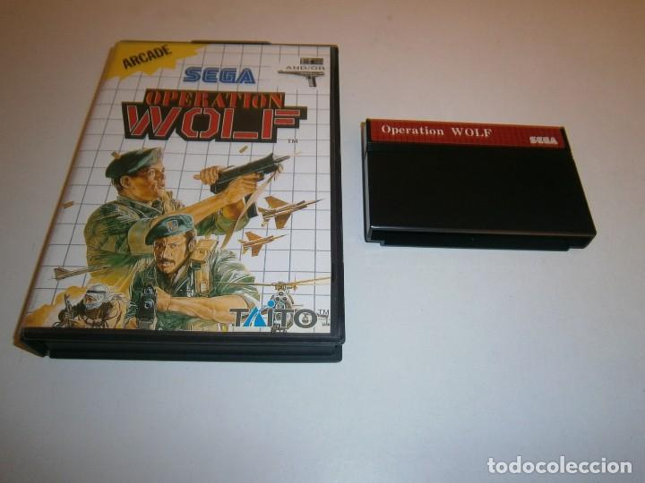 OPERATION WOLF MASTER SYSTEM (Juguetes - Videojuegos y Consolas - Sega - Master System)