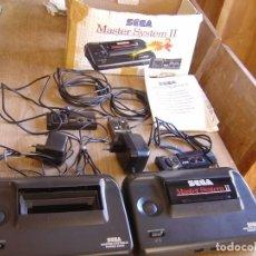Videojuegos y Consolas: LOTE DE CONSOLAS Y MATERIAL SEGA MASTER SYSTEM II.. Lote 262429550