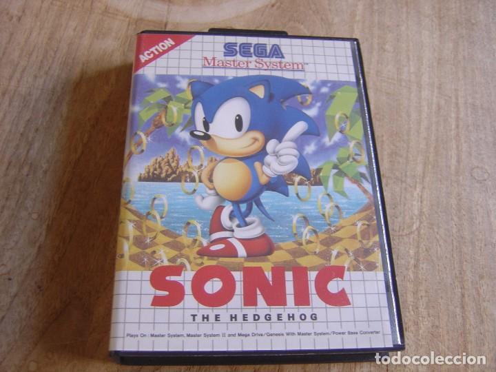 SEGA MASTER SYSTEM. SONIC. THE HEDGEHOG (Juguetes - Videojuegos y Consolas - Sega - Master System)