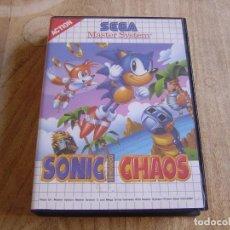 Videojuegos y Consolas: SEGA MASTER SYSTEM. SONIC THE HEDGEHOG CHAOS.. Lote 262443545