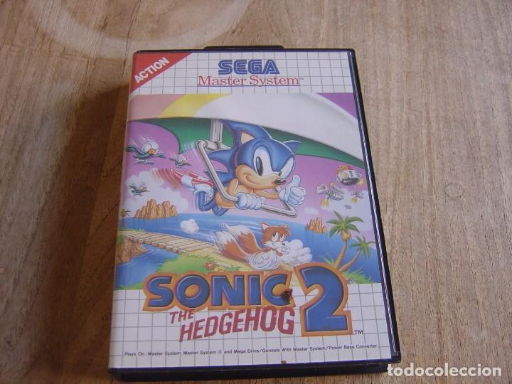 SEGA MASTER SYSTEM. SONIC 2 THE HEDGEHOG. (Juguetes - Videojuegos y Consolas - Sega - Master System)