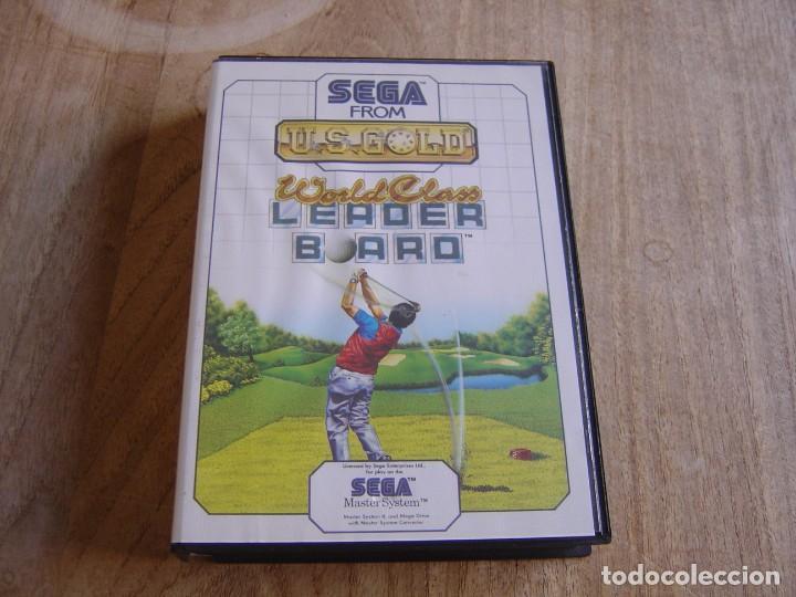 SEGA MASTER SYSTEM. WORLD CLASS LEADER BOARD. (Juguetes - Videojuegos y Consolas - Sega - Master System)