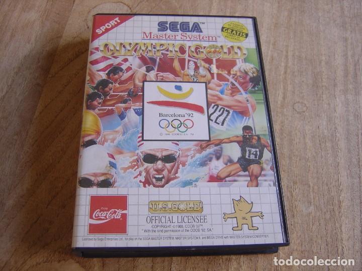 SEGA MASTER SYSTEM. OLYMPIC GOLD. (Juguetes - Videojuegos y Consolas - Sega - Master System)
